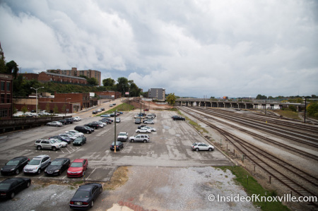Jackson Avenue/McClung Warehouse Site, Knoxville, October 2014