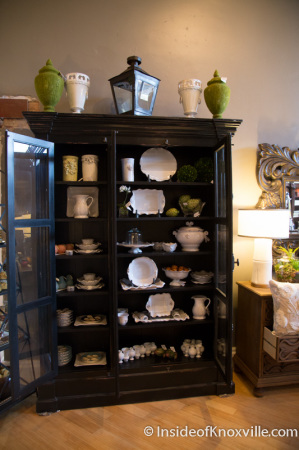 James Freeman Interiors and Gifts, 108 S. Gay Street, Knoxville, October 2014