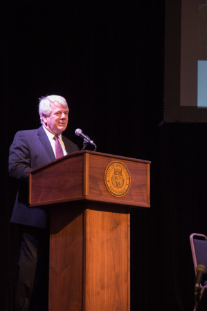 Leigh Ferguson, Chair of the ULI Committee, Bijou Theatre, Knoxville, October 2014