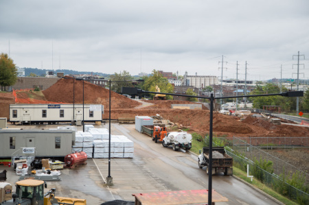 Marble Alley Site, Knoxville, October 2014