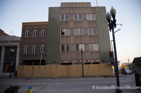 Old KUB Building Construction, Knoxville, October 2014