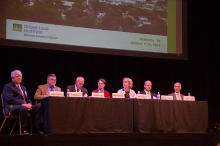 ULI Panel, Bijou Theatre, Knoxville, October 2014