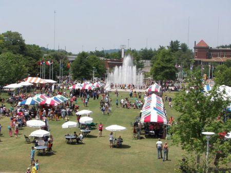 World's Fair Park, Knoxville