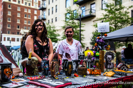 Even Zombies Need to Shop, Zombie Walk, Knoxville, October 2014