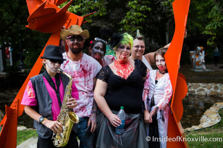 Zombie Walk, Knoxville, October 2014