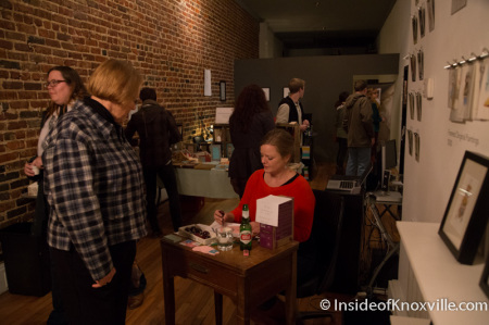 Beth Meadows Art Show at the Village, Knoxville, November 2014