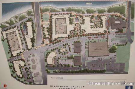 Blanchard Calhoun Plans for the Baptist Hospital Site, Knoxville, November 2014