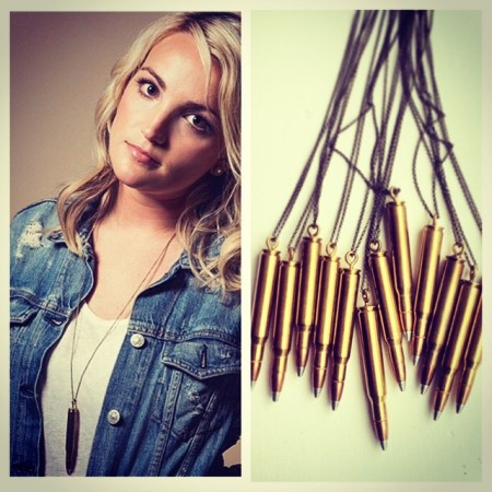 The hottest item: The Bullet Necklace by Alicia Marie Designs