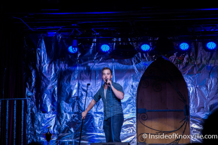 Daniel Carillo, Rocky Top Comedy Contest Finals, Scruffy City Hall, Knoxville, November 2014
