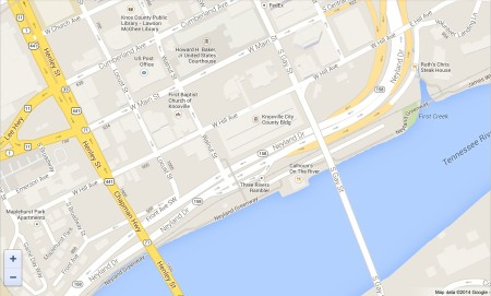 Downtown Neyland Map