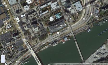 Downtown Neyland Satellite View