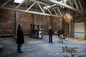 Future Home of Knox Whiskey Works, 506 West Jackson, Knoxville, November 2014