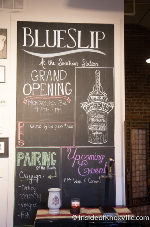 Grand Opening of the Blue Slip Winery at the Southern Railway Station, 300 West Depot, Knoxville, November 2014