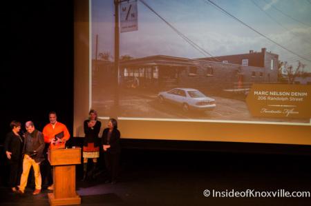 Knox Heritage Preservation Awards, Bijou Theatre, Knoxville, November 2014