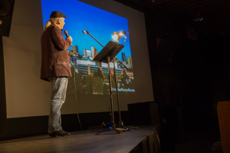 Knoxville Urban Guy does Pecha Kucha, Relix Theater, Knoxville, November 2014