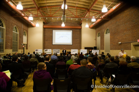 Meeting to Discuss Baptist Hospital Site Redevelopment, Flenniken Landing, Knoxville, November 2014
