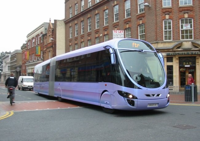 Modern Extended Bus Royalty Free Stock Photography - Image: 512407