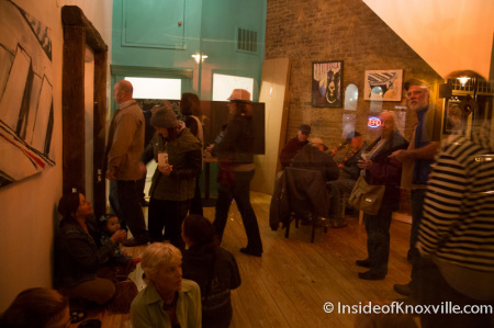 Oli Bea, Open House at 119 S. Central Street, Knoxville, November 2014