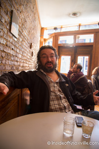 Stanton Webster, Knox Whiskey Works, 506 West Jackson, Knoxville, November 2014