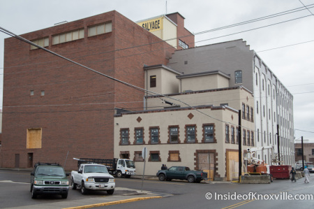 White Lily Flats, 222 N. Central Street, Knoxville, November 2014