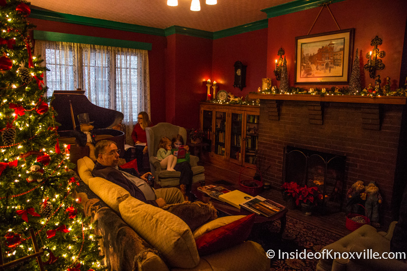 Old North Victorian Knoxville Holiday Home Tour 2014