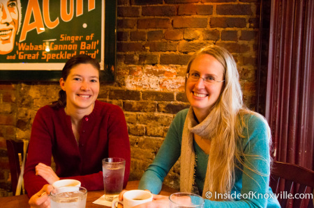 Charlotte Tolley and Kristen Faerber, Owners of Just Ripe, Knoxville, November 2014