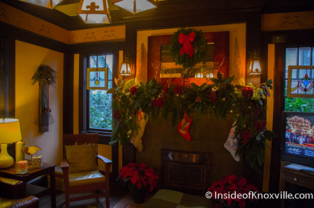 Cruze-Mabry House, 1200 Kenyon, Old North Victorian Home Tour, Knoxville, December 2014