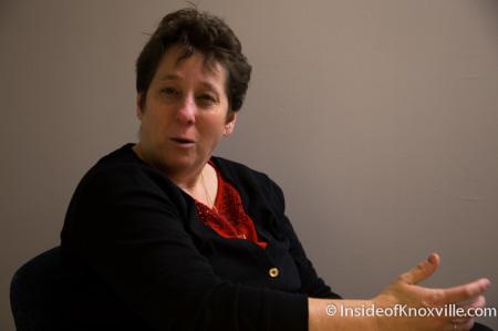 Dawn Distler, Director of Transit, Knoxville, December 2014
