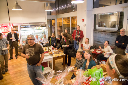 Farewell Gathering at Just Ripe, Knoxville, December 2014