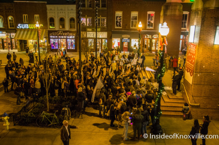 Ferguson Rally and March, Knoxville, December 5, 2014