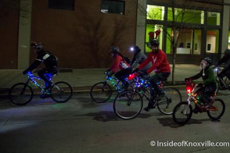Tour de Lights, Knoxville, December 2014