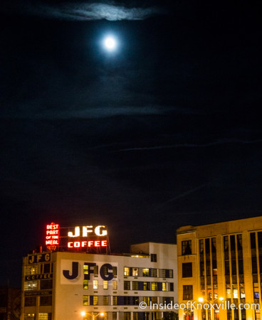 JFG Sign Over Knoxville, 2014