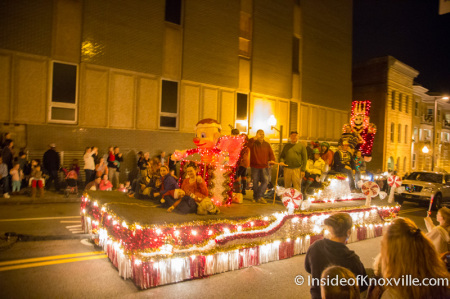 Knoxville Christmas Parade, December 2014