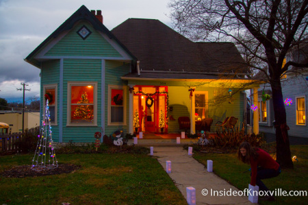 Kyker House, 254 E. Oklahoma, Old North Victorian Home Tour, Knoxville, December 2014