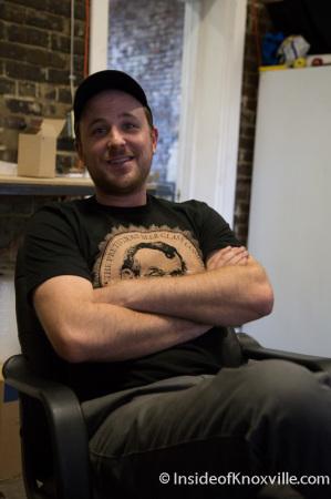 Matthew Cummings, Pretentious Glass Company, Knoxville, December 2014