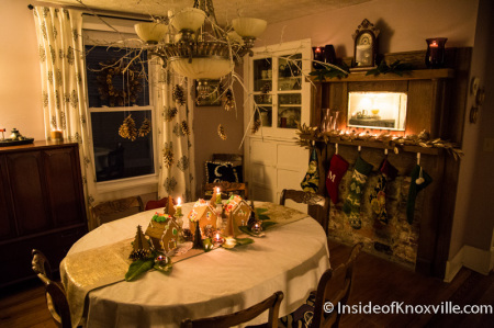 McGinley House, 219 E. Anderson, Old North Victorian Home Tour, Knoxville, December 2014