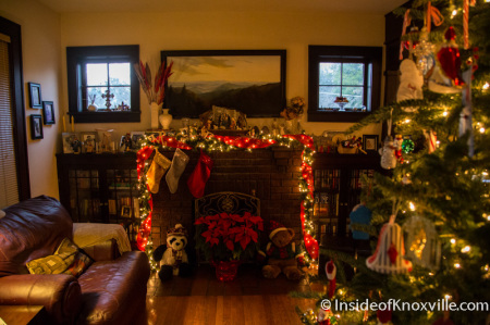 Muir House, 1428 Freemont Place, Old North Victorian Home Tour, Knoxville, December 2014