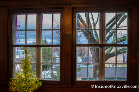 Rose Keller Johnson House, 226 W. Glenwood, Old North Victorian Home Tour, Knoxville, December 2014