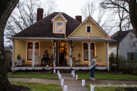 Russell Lodging House, 424 E. Oklahoma Ave., Old North Victorian Home Tour, Knoxville, December 2014