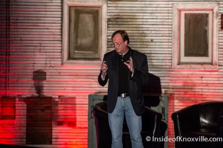 Vig Sherril of General Graphene, Startup Day, The Standard, Knoxville, November 2014