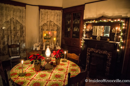 West-Evans House, 236 E. Scott Ave., Old North Victorian Home Tour, Knoxville, December 2014