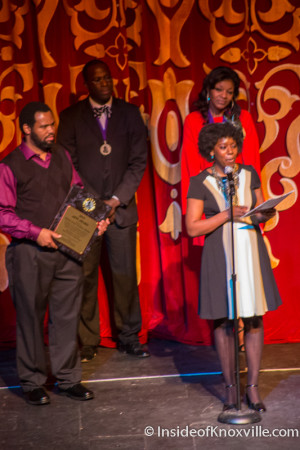Kelle Jolly and Will Boyd, Martin Luther King, Jr. Celebration, Tennessee Theatre, Knoxville, January 2015