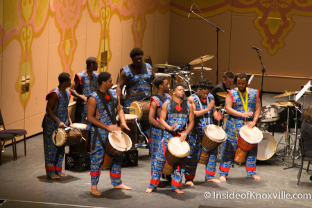 Austin East High School West African Drum and Dance Ensemble, Martin Luther King, Jr. Celebration, Tennessee Theatre, Knoxville, January 2015