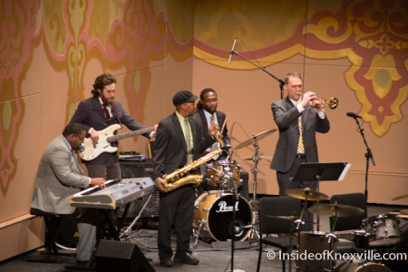 Marble City Five, Martin Luther King, Jr. Celebration, Tennessee Theatre, Knoxville, January 2015