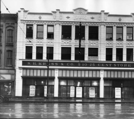 Original Kress Building, 417 - 421 S. Gay Street, Knoxville, Late 1920s
