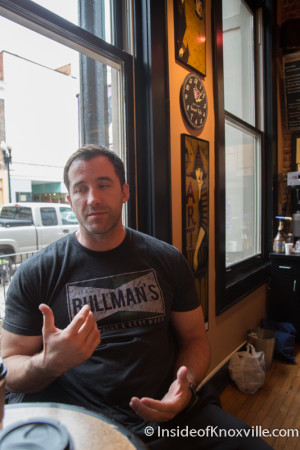 Terry Bullman, Bullman's Kickboxing and Krav Maga, 421 S. Gay Street, Knoxville, January 2015