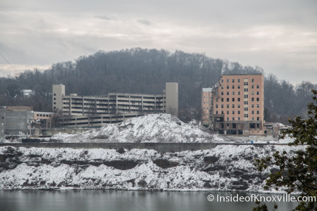Former Baptist Hospital Site, Knoxville, February 2015