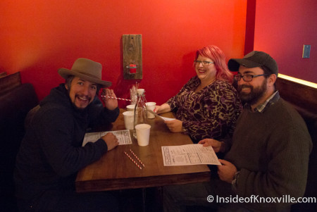 Alleged First Customers (Any Know These Strange People?), Holly's 135, 135 S. Gay Street, Knoxville, February 2015