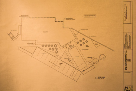 Plans for Balter Brewing, Knoxville, February 2015