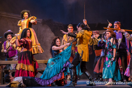 Knoxville Opera, Carmen, Tennessee Theatre, February 2015